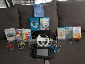 Wii U with games for Sale in Dallas, TX