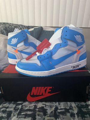 Off White Unc Jordan 1 for Sale in Tracy, CA