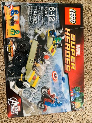 LEGO Marvel Captain America Vs Hydra for Sale in Damascus, OR