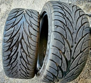 2) Almost NEW Federal 595SS 245/45/17 Tires for Sale in Melbourne, FL