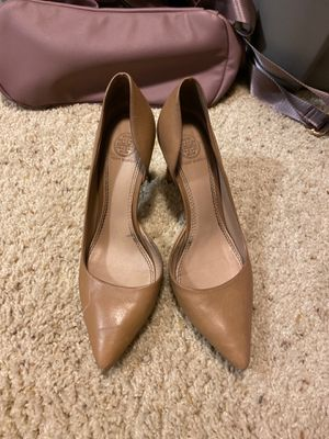 Tory Burch 7.5 M beige heels for Sale in Scottsdale, AZ