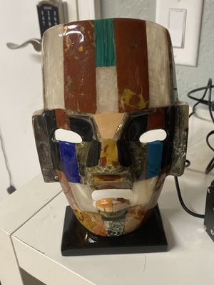 Mayan Mask sculpture for Sale in West Palm Beach, FL