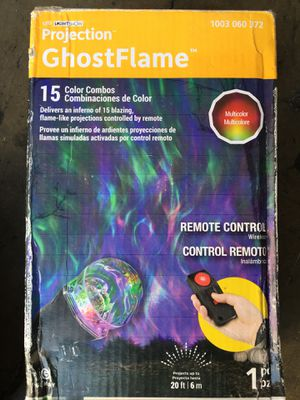 Ghost flame projection light $15 for Sale in Garden Grove, CA