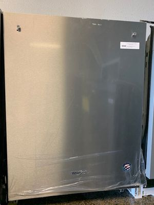 stainless steel whirlpool dishwasher for Sale in Phoenix, AZ