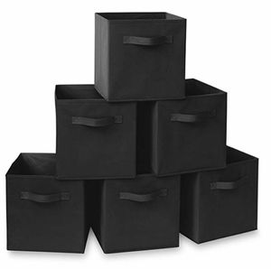New Set of 6 Cloth Storage Drawers Black (Tarpon Springs) for Sale in Tarpon Springs, FL