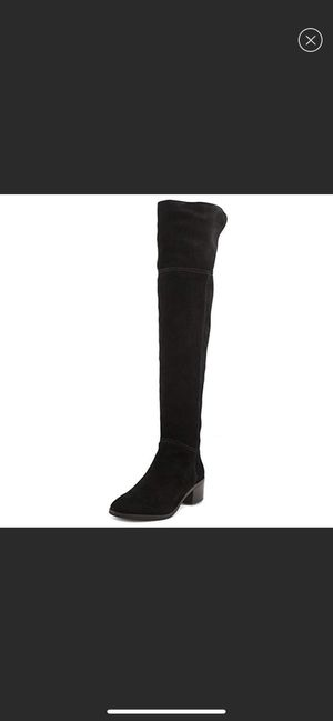 NEW! COACH Heeled knee high black boots for Sale in Beverly Hills, CA