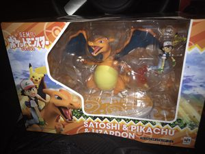 Satoshi and Pikachu and Lizardo figures for Sale in Norwalk, CA