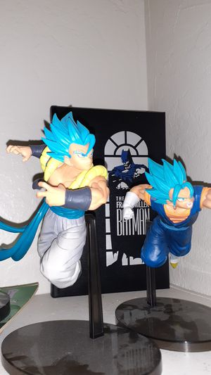 Gogeta & vegeto collection statues for Sale in Stockton, CA