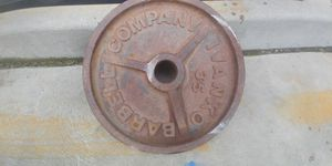 35 lb Olympic weight plate for Sale in Fresno, CA
