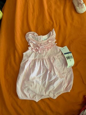 Baby girl Polo Ralph Lauren onesie Size: 3 months for Sale in Philadelphia, PA