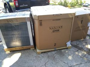 New AC unit, condenser, coil, furnace. Electric and gas for Sale in Garland, TX