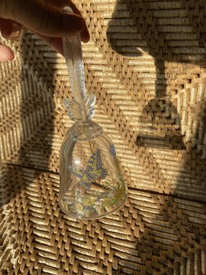 Butterfly glass bell for Sale in Sacramento, CA