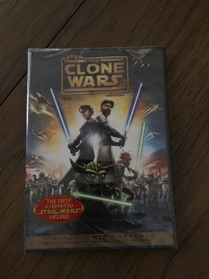 Star Wars the Clone Wars Animated Movie for Sale in March Air Reserve Base, CA