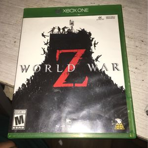 World War Z Xbox One for Sale in East Windsor, CT