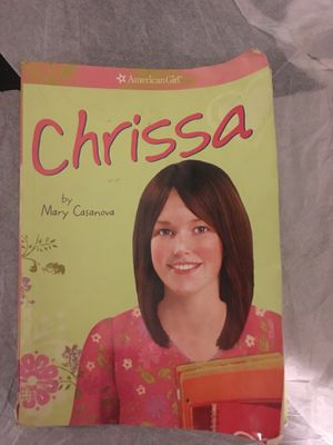 "American girl book "" Chrissa"" for Sale in Savage, MD"