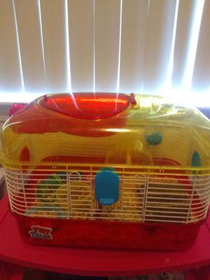 Free cage + supplies for Sale in Di Giorgio, CA