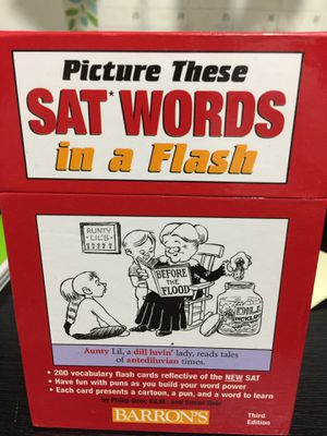 SAT flash cards for Sale in Coral Springs, FL
