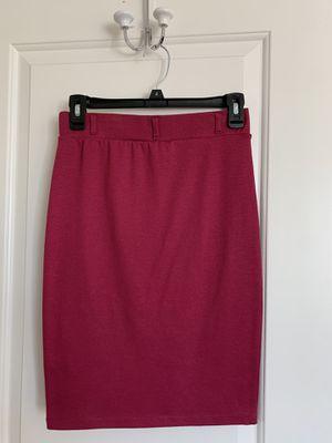Raspberry Pencil Skirt for Sale in Roseville, CA