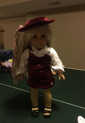 American Girl Doll - Julie Albright with special holiday edition clothing for Sale in Saint Charles, MO