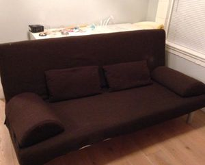Futon couch- Queen size for Sale in Denver, CO