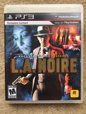 L.A. Noir (PS3) for Sale in Fairfax, VA