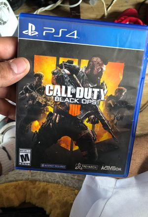 Black ops 4 (ps4) for Sale in San Diego, CA