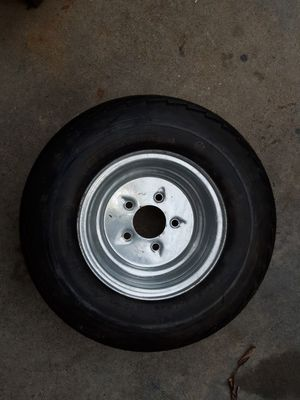 Trailer tire and wheel 20.5x8.0-10 for Sale in Huntington Beach, CA