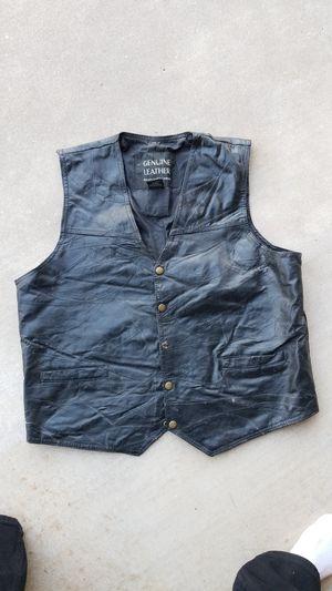 Leather Vest for Sale in Scottsdale, AZ