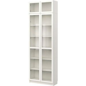 Bookshelves with panel glass door (2) $100 each firm for Sale in Falls Church, VA