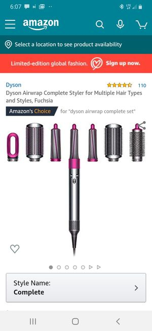 New DYSON AIRWRAP complete style kit for Sale in Las Vegas, NV
