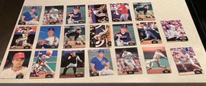 (20) 1992 Topps Stadium Club baseball cards (value of set $3.60) for Sale in Montgomery, OH