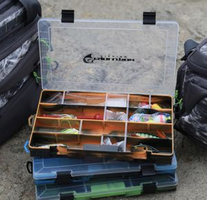 Water Camo Fishing Tackle Boxes Brand New for Sale in West Covina, CA