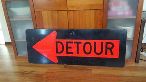 Detour sign. DOT approved for Sale in Bothell, WA