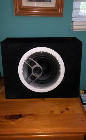 Polk Audio MC60 mounted in box for Sale in Clearwater, FL