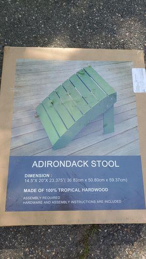 Adirondack stool for Sale in Billerica, MA