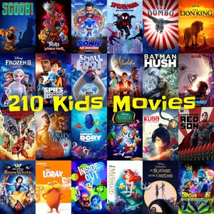 210 Kids Movie Collection - Classic Disney and The Latest Releases for Sale in Altadena, CA