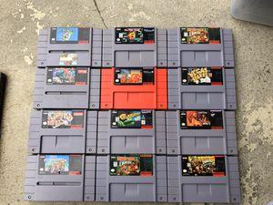 Super Nintendo Games for Sale in Bellflower, CA