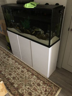 Aquarium with stand for Sale in Houston, TX