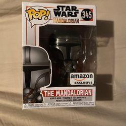 Star Wars The Mandalorian Amazon Exclusive Funko Pop for Sale in Monee,  IL