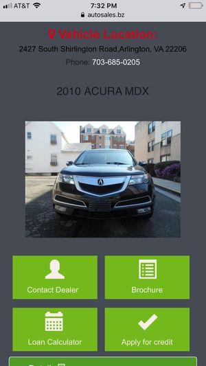 2010 Acura MDX for Sale in Arlington, VA