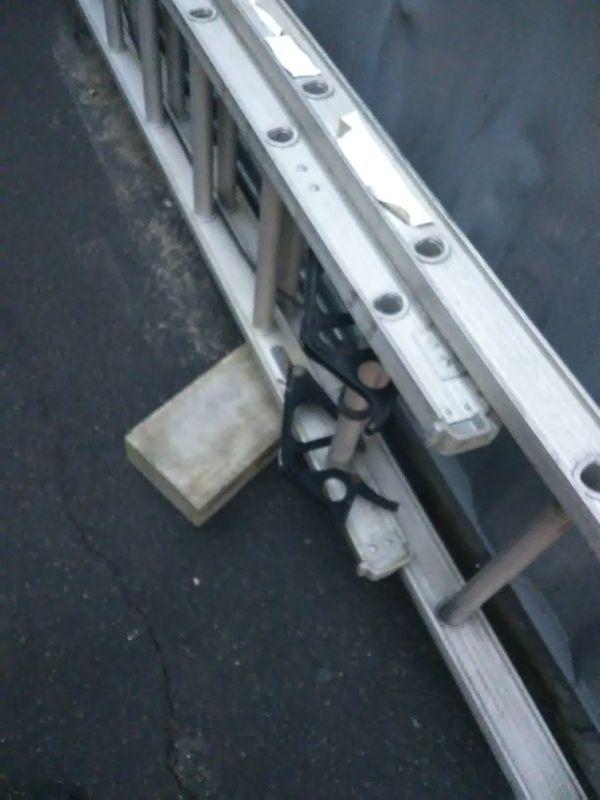 ,16' aluminum step ladder