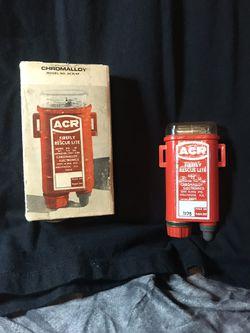 Chromalloy ACR Firefly rescue lite for Sale in Yuma,  AZ