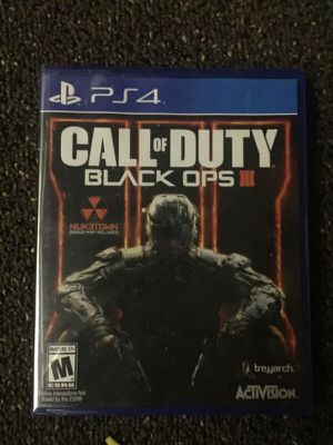 Call of duty black ops III for Sale in Fort Lauderdale, FL