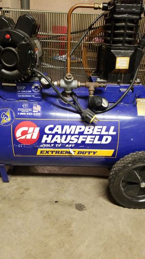 Campbell Hausfeld extreme duty air compressor for Sale in Fort Washington, MD