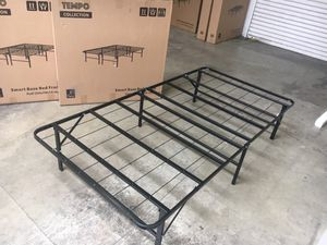 Tempo Collection 14 inch High Profile Platform Smart Base Bed Frame, Twin for Sale in Santa Fe Springs, CA