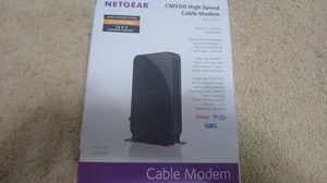 Netgear cm500 DOCSIS 3.0 for Sale in Portland, OR