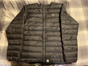 "Bape ""Happy New Year"" Lightweight Down Jacket Size Large for Sale in North Las Vegas, NV"