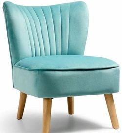 Armless Accent Chair Modern Velvet Leisure Chair-Green HW63980GN for Sale in Diamond Bar,  CA