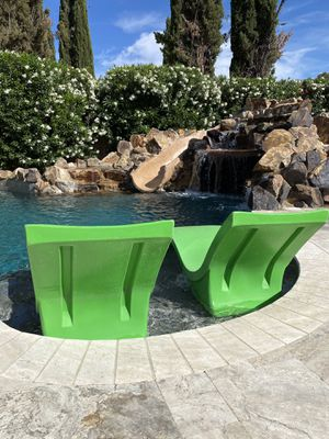 Ledge lounger - wet deck pool chairs - pool chairs - pool lounger for Sale in Las Vegas, NV