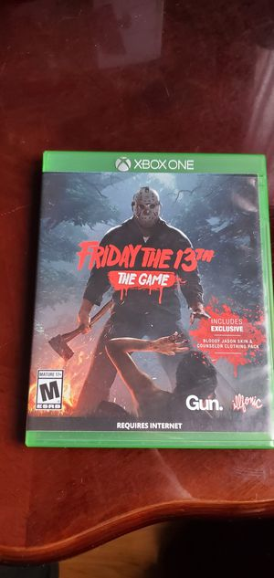 Friday the 13th the game for Sale in Chicago, IL